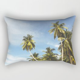 Palms Trees on the San Blas Islands, Panama Rectangular Pillow