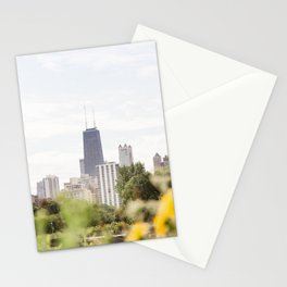 Chicago in August Stationery Cards