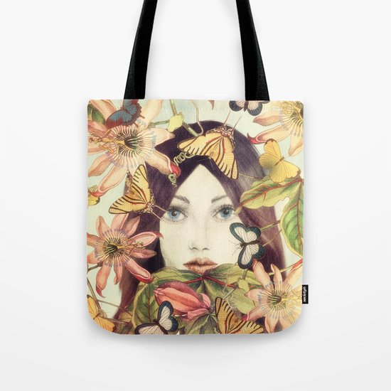 Whispers From A Secret Garden Tote Bag