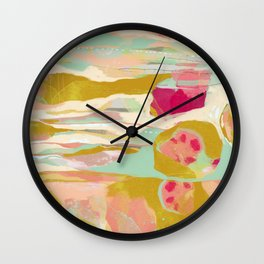 Seedpods Wall Clock