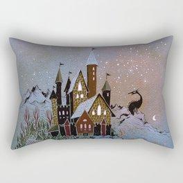 Magic Castle Rectangular Pillow