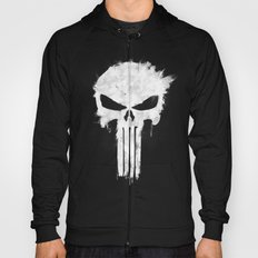 Punisher White Hoody