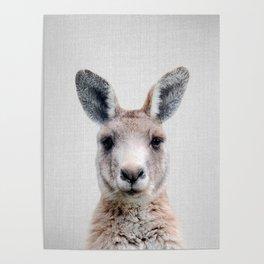 Kangaroo - Colorful Poster