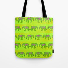 Spotted horses Tote Bag