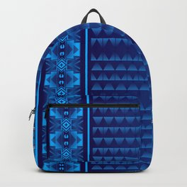 Buffalo Running (Blue) Backpack