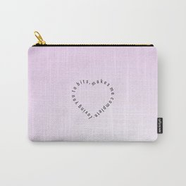 Heartbits  #society6 #heart #love #buyart Carry-All Pouch