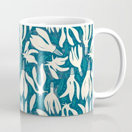 Garden of flowers and dots Coffee Mug