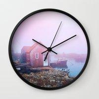 Life on the Coast Wall Clock