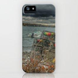 Dutch harbor iPhone Case