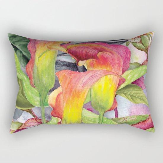 Macro Flowers #24 Rectangular Pillow