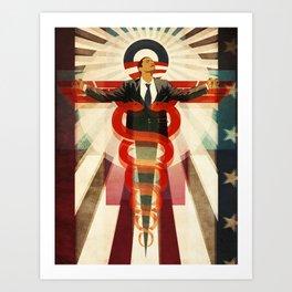 Obama Care Art Print