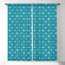 Cajan Royal bowler Blackout Curtain