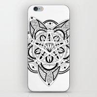 pentagram iPhone & iPod Skins featuring Pentagram by Captain Dibbzy