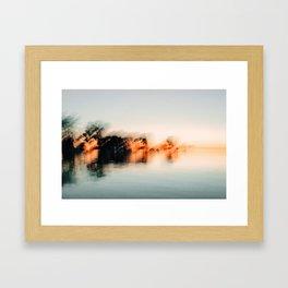 Late Summer Abstract #2 Framed Art Print