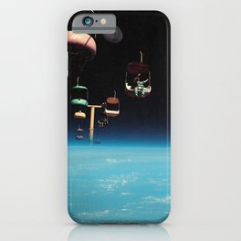 The Best View In The World - Space Aesthetic, Retro Futurism, Sci Fi iPhone Case