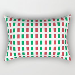 flag of Italia- Italy,Italia,Italian,Latine,Roma,venezia,venice,mediterreanean,Genoa,firenze Rectangular Pillow