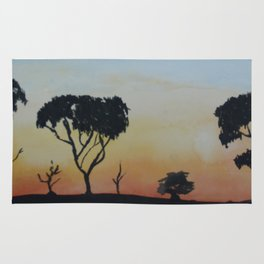 Bush Sunset Rug