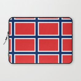 flag of norway Laptop Sleeve