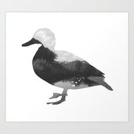 Pond Life Art Print