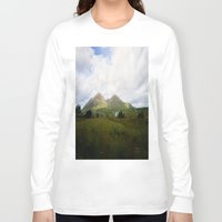 scotland Long Sleeve T-shirts featuring Somewhere in Scotland by Jane Lacey Smith