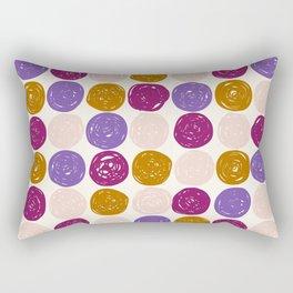 Geo Circles Rectangular Pillow