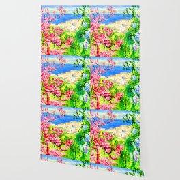 Albert Marquet Pink Tree Wallpaper