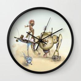Cowbot 2000 & crew Wall Clock