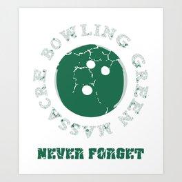 Bowling Green Massacre Never Forget Art Print