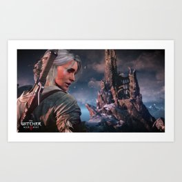 The Witcher - Ciri Art Print