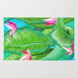 Banana Floral Rug
