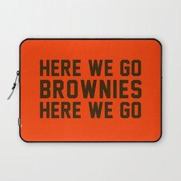 Here We Go Brownies Here We go Laptop Sleeve