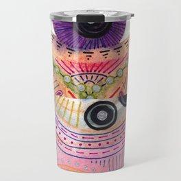 colorful words of a poem Travel Mug