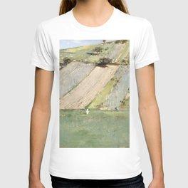 Theodore Robinson - A Hillside, Giverny T-shirt