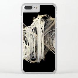 3D Fractal Skein Clear iPhone Case