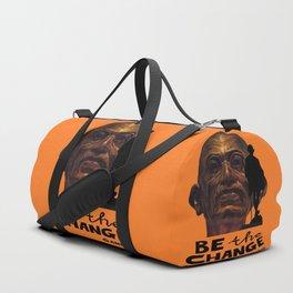 GANDHI quote Duffle Bag