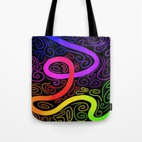 trip Tote Bags featuring Trip by Casalmon