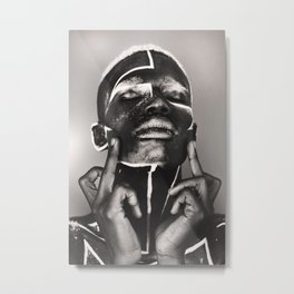 bodypaint f*ck the world Metal Print