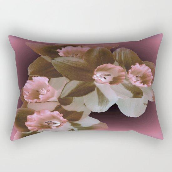 Enchanted Daffodils Rectangular Pillow