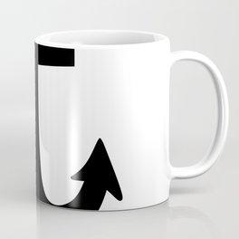 Anchor (Black & White) Coffee Mug