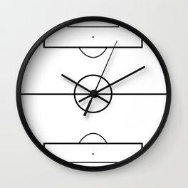 Soccer Field Wall Clock
