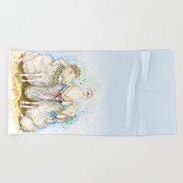 Spring Time Song Beach Towel