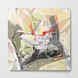 rotating polygones Metal Print