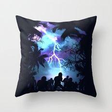 Stormy Night Throw Pillow