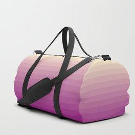Plum Gradient Duffle Bag