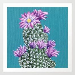 Purple Escobar Art Print