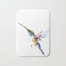 Flying Hummingbird Bath Mat
