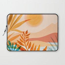 Golden Greek Garden Laptop Sleeve