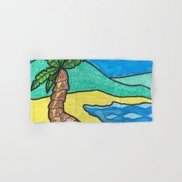 Tropical Beach Hand & Bath Towel