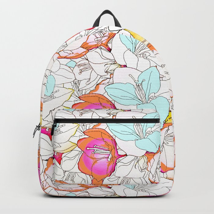 Early Bloomer #society6 #decor #buyart Backpack