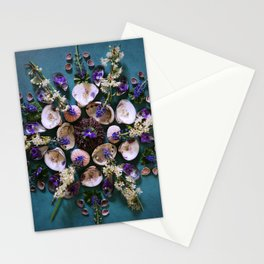 April Nature Mandala II  Stationery Cards